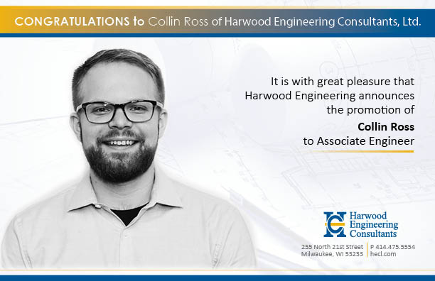 Collin Ross Promoted to Associate Engineer
